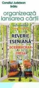 Părere de cititor - Reverie eseniană, de Mihai Chirsanov http://scrieliber.ro/parere-de-cititor-reverie-eseniana-de-mihai-chirsanov/