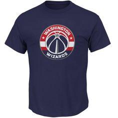 578c7d0f Washington Wizards Majestic Big & Tall Primary Logo T-Shirt - Navy. Nba ...