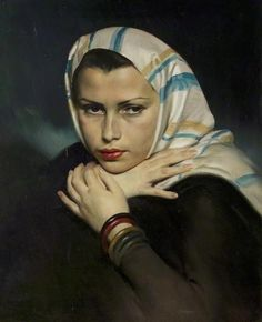 David Jagger Jewish Refugee, Wien, 1938 Nottingham Castle Museum and Art Gallery John Piper, Edward Hopper, Art Deco, Painting People, Jewish Art, Your Paintings, Classic Paintings, Figurative Art, Oeuvre D'art