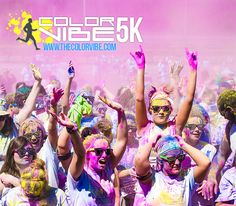 Color Vibe 5K Run - Check it out at www.thecolorvibe.com