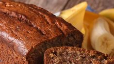 delicious-freshly-baked-banana-bread-on-a-table-closeup-horizo-picture-id498995950 Banana Bread, Sugar, Cooking, Desserts, Food, Kitchen, Tailgate Desserts, Deserts, Essen