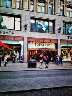 Topshop Oxford Street. favorite store in london<3<3