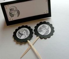1920s cupcake toppers via Etsy (http://www.etsy.com/listing/90047674/1920s-roaring-twenties-cupcake-toppers?ref=sr_gallery_26_search_query=20s+decoration_view_type=gallery_ship_to=ZZ_search_type=all#).