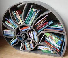 Build Your Own Nautilus Bookshelf | Mental Floss