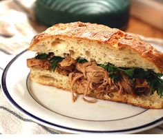 Crockpot Carolina Style Pulled Pork ... I made this once, but I think it needed even more vinegar!