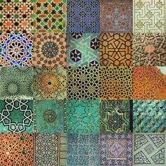 Arabesque- a scrolling plant motif derived from Islamic art and architecture. Tile Patterns, Pattern Art, Abstract Pattern, Textures Patterns, Star Patterns, Wallpaper Patterns, Islamic Art Pattern, Arabic Pattern, Geometric Art