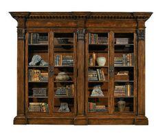 Classic style glass front bookcase CASTELLINA HENREDON