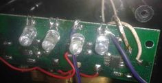 analogue energy meter pulse or cal led