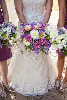 Lavender, purple, radiant orchid, late spring flowers, Weddings at Wonder Valley.
