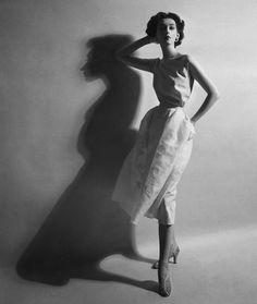 1950′s Fashion Model: Dovima