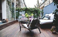 La maison d'Anna G.: Une autre terrasse... et Tulip