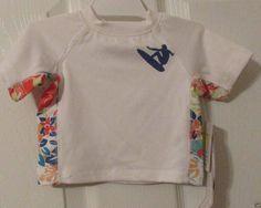 Koala Baby Performance UV Protection Swim Shirt, Size Newborn, UPF 45, NWT's #KoalaBaby #Everyday