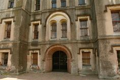 Old Charleston Jail, Charleston, South Carolina. The Most Haunted Place in Each of the 50 States