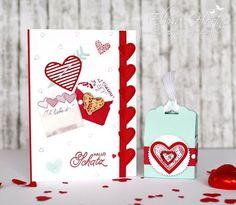 Mach was draus - Valentinstag - Mit Gruss und Kuss - Framelits Liebesgrüße