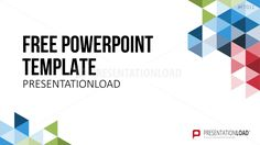 Free PowerPoint Template Geometric Shapes
