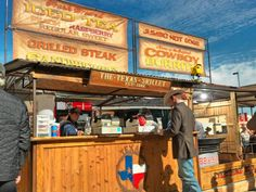 Do I know this place or what...Texas Skillet at the Ft Worth Stock Show and Rodeo. Home of the infamous Cowboy Burrito.