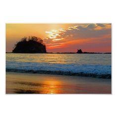 Endless Summer Sunsets - Hideaway Beach, Costa Rica