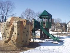 Awesome NaturePlay climbing boulder for the playground | Photo Gallery - Commercial Playground Equipment | Outdoor Play Structures | BCI Burke
