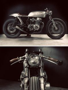 anchordivision: It's getting harder and harder to impress with a CB750 custom. But this machine, stripped back to bare finishes and muted colors, works a treat. 'The Natural' is a collaboration...