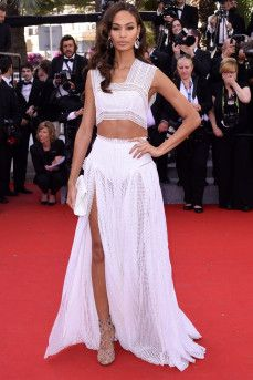 Joan Smalls at Cannes 2015