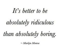 Well said, Marilyn.