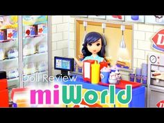 Review of MiWorld Playsets and Accessories YouTube Video by MyFroggyStuff - Sets and Collector Packs sold at Walmart and Toys R Us