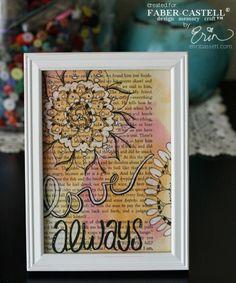 Love Always Wall Art by Erin Bassett.