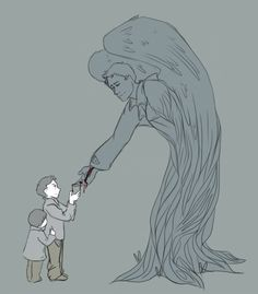"""""""Don't ever compare 'The Giving Tree' by Shel Silverstein to Castiel and the Winchesters or you will cry this has been a PSA."""" 