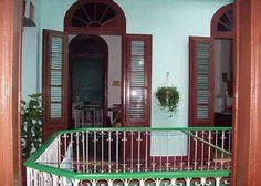 Detalle zonas comunes 1 Cuba, Colonial, Deck, Outdoor Decor, Home Decor, Hotels, Live, Parks, Decoration Home