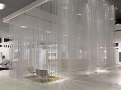 Aluminium chain curtain CEILING RAINY EFFECT by Kriskadecor