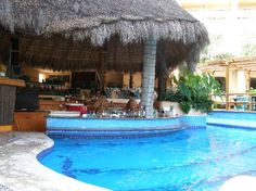 The swim up bar at the Fiesta Americana in Puerto Vallarta. Loved this place! <3