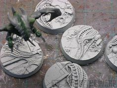 From the Warp: Tyranid Parasite of Mortrex conversion WIP