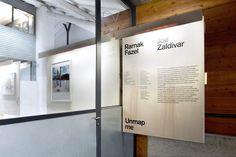 (Eng) Unmap me Environment Design, Exhibit, Signage, Furniture Design, Signs