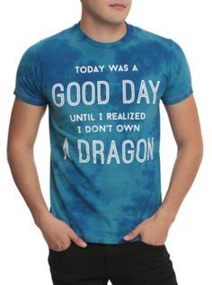I Don't Own A Dragon Tie Dye T-Shirt