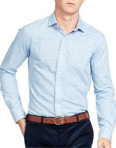 POLO RALPH LAUREN Polo Ralph LaurenGlen Plaid Twill Estate Shirt. #poloralphlauren #cloth #