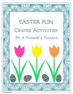 Easter Fun - Center Activities