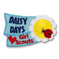 GS Daisy Days patch - free shipping