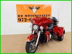 eBay: Trike 2013 Harley-Davidson Trike Tri Glide Ultra Classic FLHTCUTG Used LOW MILES!! #motorcycles #biker
