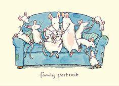Family portrait - Anita Jeram