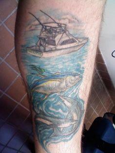 """""""My Tuna Tattoo,"""" 2010 Hunting and Fishing Tattoo Contest — Field & Stream"""