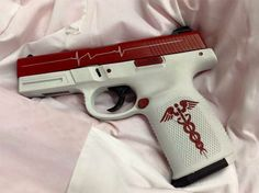 This is pretty cool looking...idk if I'd want my gun to look like this or not but kinda cool.