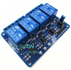 >> Click to Buy << 4 Four Channel Relay Module DC 5V + Optocoupler PIC ARM AVR DSP #Affiliate