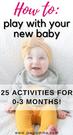 3 Months Baby Activities, Baby Learning Activities, Newborn Activities, One Month Old Baby, Baby Month By Month, Baby Sensory Play, Baby Play, Baby Schedule, 3 Month Old Schedule