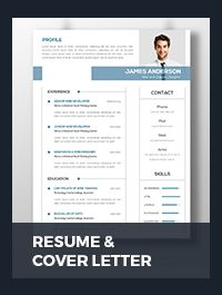 This is Clean Resume & Cover Letter template . This template download contains 300 dpi print-ready CMYK psd files. All main elements are editable and customizable.   How To Edit & Customize Resume ... Resume Cover Letter Template, Paper Size, Templates, Lettering, Feelings, Words, Blade, Stencils, Vorlage