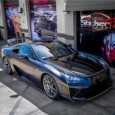Lexus LFA | Follow: @stickercity • @stickercity | Restyle Your Vehicle With A Custom Car Wrap or Protect it with a quality clear bra