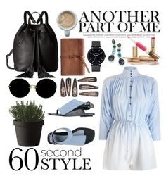 """60SecondStyle"" by poorvashikalra ❤ liked on Polyvore featuring Zimmermann, Muuto, Miu Miu, Kenzo, Rebecca Minkoff, Ippolita, The Horse, ombre and 60secondstyle"