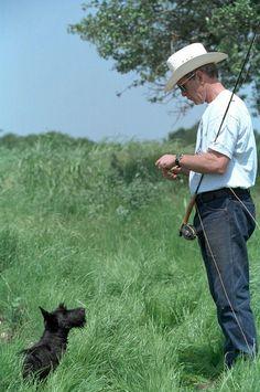 Barney + George W. Bush