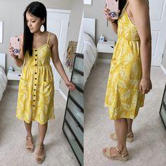 Sundress Outfit, Yellow Sundress, Dress Up, Comfy Dresses, Cute Dresses, Summer Dresses, Summer Outfits, Target Clothes, Amazon Clothes