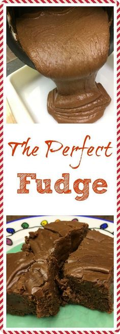 Fudge that will make all your friends jealous. It's the perfect fudge. I love chocolate fudge. This is one of my favorite easy chocolate fudge recipes that is perfect for an old-fashioned Christmas treat, or any time of the year. Easy Chocolate Fudge, Gluten Free Chocolate, Homemade Chocolate, Chocolate Recipes, Chocolate Tarts, Delicious Chocolate, Chocolate Chips, Chocolate Milkshake, Cake Chocolate