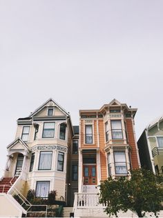 A neighborhood shot in San Fran.